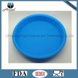 Cacerola baja Sc43 del mollete del silicón del molde para pasteles del silicón