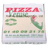 Rectángulo postal de la pizza del embalaje para llevar durable (PB160629)