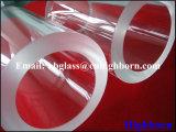 Tuyauterie en verre de quartz de silice d'épaisseur de paroi de Manufacurer