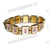 Heart-Shaped Legierungs-Rosenbeet-Armband, Heilig-Armband