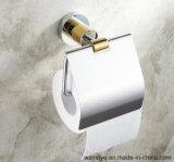 Sostenedor de papel higiénico de latón para el baño