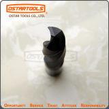 Morceau de foret solide de torsion de carbure de tungstène pour l'acier inoxydable de perçage