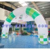 Arco gonfiabile di pubblicità gonfiabile 0.6mm di spessore dell'arco della tela incatramata attraente del PVC