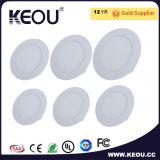 12W LED 천장 Light LED Panel Light 5inch LED Panel Light