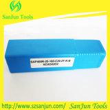 Supporto quadrato Indexable della fresa della spalla di Bap300r/Bap400r per gli inserti di macinazione del carburo di CNC