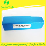 Bap300r/Bap400r CNC 맷돌로 가는 탄화물 삽입을%s Indexable 정연한 어깨 맷돌로 가는 절단기 홀더