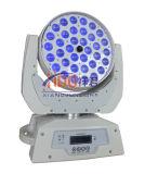 36*15W RGBWA (UV) 6in1 LED 급상승 광속 이동하는 맨 위 세척 빛