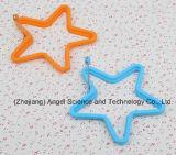 Инструмент прессформы яичницы силикона формы звезды с ручкой Se08 утюга