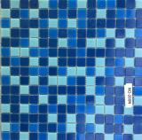 Mosaico Mezclado del Vidrio Cristalino del Color para la Piscina (FYSN058EX)