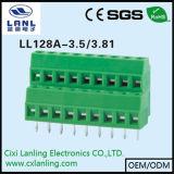 Ll128A-3.5/3.81 PCB 나사식 터미널 구획