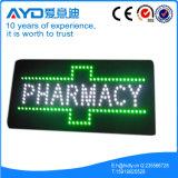 緑LEDのクロワッサンの薬学の印