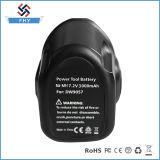 Bateria recarregável de Dewalt Ni-MH 7.2V 3000mAh 3.0ah