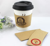Tasse de papier jetable faite sur commande respectueuse de l'environnement