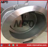 Tipo singola valvola di ritenuta della cialda di Nipo dell'oscillazione del piatto