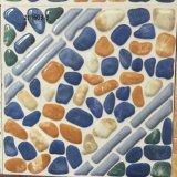 Mattonelle di pavimento di ceramica della stanza da bagno di pietra Colourful impermeabile di sguardo