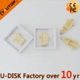 Regalos de madera plegables de la promoción del USB de la cabina (YT-8134L1)