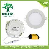 Square rotondo 3W 6W 9W 15W 18W 20W 48W LED Ceiling Panel Light con CE RoHS