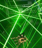 맨 위 거미 광속 빛을 이동하는 RGB Laser 8 헤드