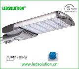 luz de calle de la CA LED del aluminio del conductor de 165W IP66 Meanwell, luz de la calle LED