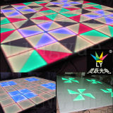indicatore luminoso del DJ DMX LED Dance Floor del partito della fase di 80W 8mm