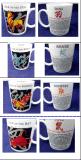 Doze canecas cerâmicas dos sinais chineses do zodíaco ajustaram-se para a venda por atacado