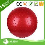 PVCはバランスの球のヨガの練習の球のマッサージの球を反破烈させた