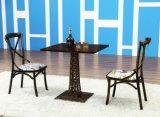 Insiemi della mobilia della caffetteria dei bistrot di stile di disegno di industria di ferro retro