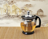 Handleの高品質Glass Tea Kettle Water Kettle Tea Pot