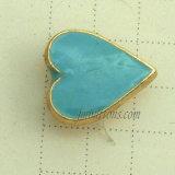 Голубые милые заклепки кнопок металла влюбленности для износа джинсыов