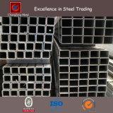 Il nero o tubo d'acciaio quadrato di Glavanized con il acciaio al carbonio