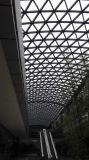 Toit en verre en acier préfabriqué de construction pour le centre commercial
