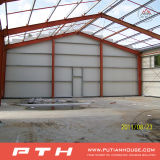 (EPS / PU / XPS / Rockwool) Sandwich del panel de pared Estructura de Acero
