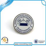 chaîne de caractères de matériau d'insigne nommé de Pin de commandant Peter Official de bouton de 30mm