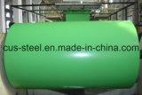 PPGI/Painted galvanizou a bobina de aço/a folha revestida cor do ferro