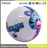 Gummiblasen-Karikatur-Fußball-Kugel mit 2 Futtern