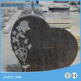 Pietra tombale europea professionale del granito di stile della Cina