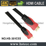 Hohes Definition Doppelt-Farbe HDMI Kabel A bis C