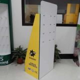 China Cardboard Display Manufacturer, Customized Cardboard Display mit Hooks für Print Cartridge