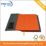 PU Leather Cover Card Pocket Paper notebook (QY150324)