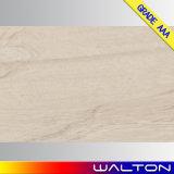 Azulejo de suelo esmaltado de madera de la porcelana del material de construcción de la mirada (WR-IMB6975)