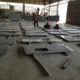 Chinese G439 Countertops van het Graniet van de Parel van de Room voor Keuken in het Project van het V.S.- Hotel
