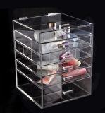 Caixa de gaveta de acrílico, Organizador de cosméticos acrílicos, Organizador de acrílico