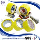 Venda quente na fita amarelada gomada Globel da embalagem de OPP