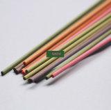 Bâtons tubulaires colorés de diffuseur de fibre de la GY
