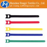 Gancho multicolor de nylon e laços de cabo de alça