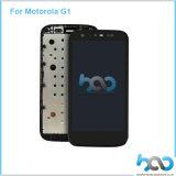 Originele Mobiele LCD van de Assemblage van de Vervanging van de Telefoon Vertoning voor Motorola G1