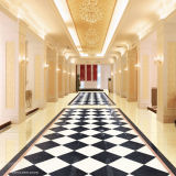 Non Slip Black Crystal Double Loading Tiles per Floor