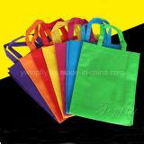 Fördernde kundenspezifische Firmenzeichen-umweltfreundliche nichtgewebte Einkaufen-Beutel
