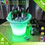 Serving Drinks Bcr-924bのためのLED Lighted Plastic Ice Bucket