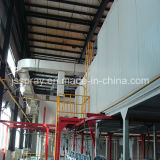 Alta qualità Powder Coating Line per Industrial Area